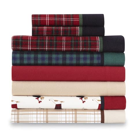 Flanel Set Rumpil 1 cannon 4 flannel sheet set home bed bath bedding sheets