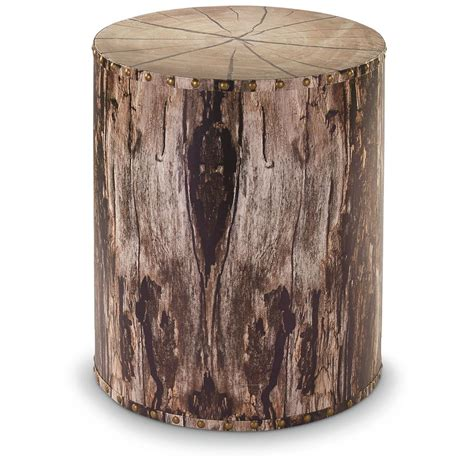 tree trunk table l castlecreek tree trunk end table 664329 living room at