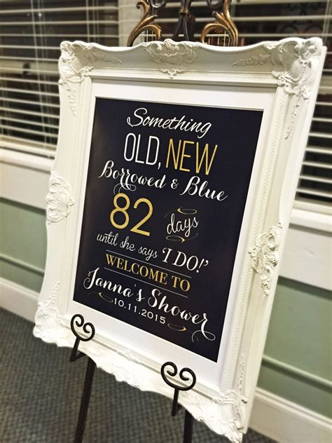 wedding gift sign ideas bridal shower welcome sign wedding shower decorations