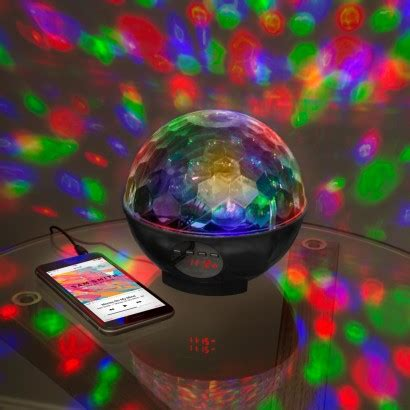 bluetooth disco light, party speaker & radio