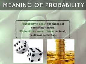 meaning of decks probability by h00253009