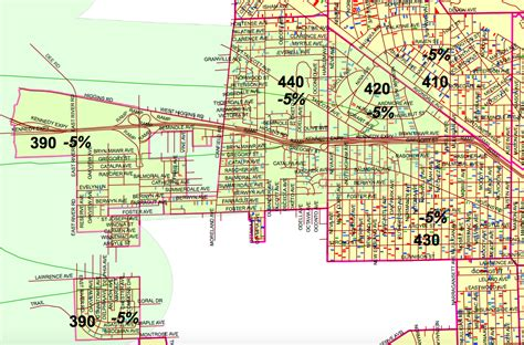 City Of Chicago Property Tax Records Jet Noise Means Lower Property Taxes For Homes In These Neighborhoods Map O Hare