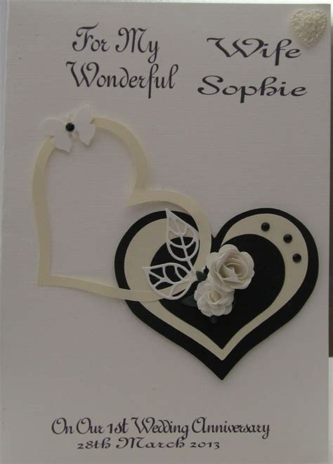 10th Wedding Anniversary Card Husband by 404 Best Images About Handmade Anniversary Cards On