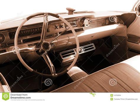 Vintage Cer Interior by Vintage Car Interior Sepia Stock Photo Image 14755354