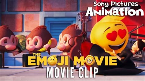emoji film scenes the emoji movie opening scene youtube