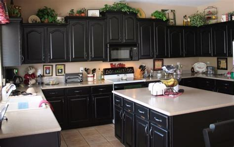 black cabinets black and white kitchen cabinets contemporary kitchen