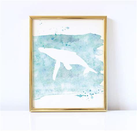 free printable coastal wall art whale watercolor printable coastal wall art beach house