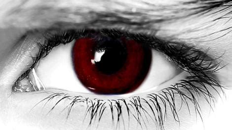 halloween conctacts lens blood red fx theatrical lens