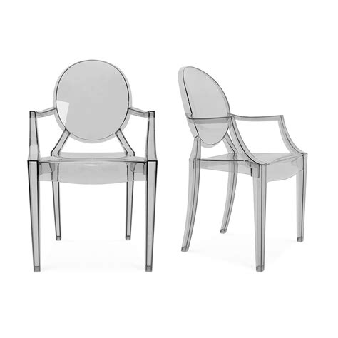 Philippe Starck Furniture by Philippe Starck Philippe Starck Louis Ghost Chair Grey