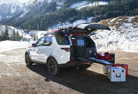 Cross Search Search Rescue Land Rover Deploys Drone From Roof