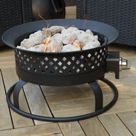 bond 18.5 in. portable propane 50,000 btu campfire fire