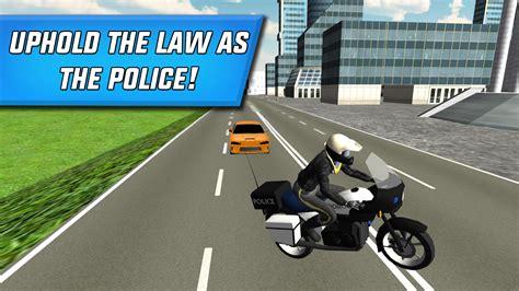 Motorrad Spiele Free Download by Polizei Motorrad Stadt F 228 Hrt Android Spiele Download