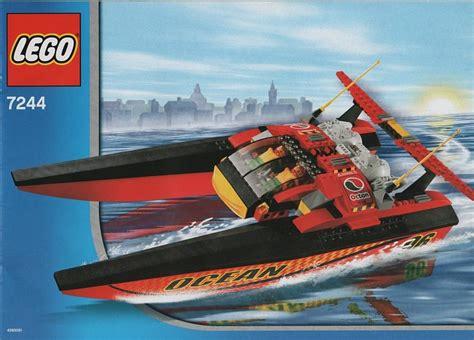 lego speed boat sets 7244 1 speedboat brickset lego set guide and database