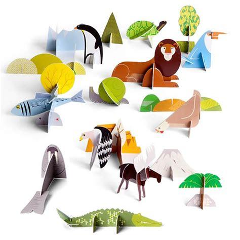 como hacer animales de zoologico en 3d con cartulina como hacer animales de carton 3d animales en carton
