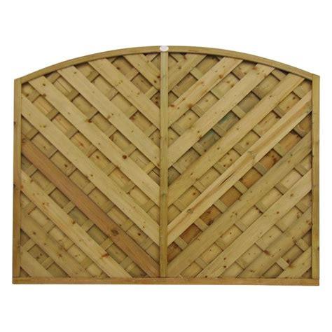 Arched Trellis Panels V Panel Arched Fence Panel Panels Gates Fencing