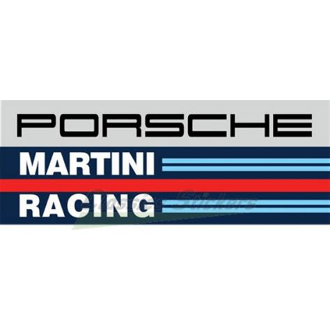martini and logo porsche martini