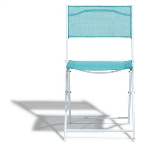 Chaise Et Bleue chaise pliante blanche et bleue table chaise salon