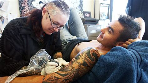 tattoo parlour adelaide cbd drawing the line reds boss warns on tattoo timing the