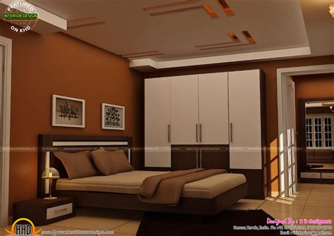 Interior Designs For Home by Master Bedrooms Interior Decor Kerala Home Design And