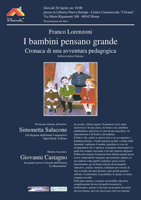 libreria i granai roma incontro con l autore libreria nuova europa centro
