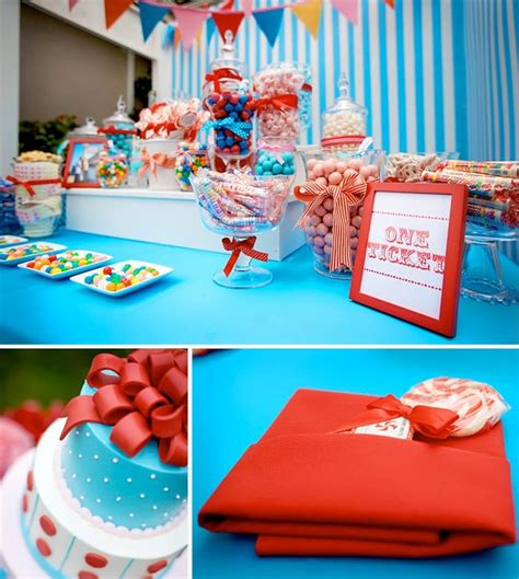 carnival themed weddings