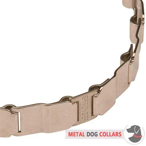 metal collars 19 inch neck tech stainless steel collar hs38 1091 50051 010 55 neck tech