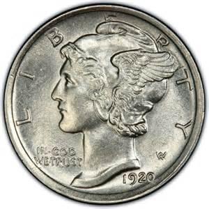1920 mercury dime values and prices past sales