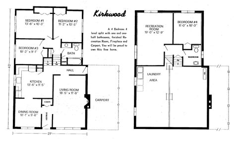 Split Level Floor Plans 1970 Mid Century Modern And 1970s Era Ottawa A Bright Idea