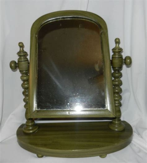 Antique Wood Vanity With Mirror by 1000 Images About Mirrors On