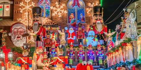 america christmas light set up dyker heights has the best lights in america photos business insider