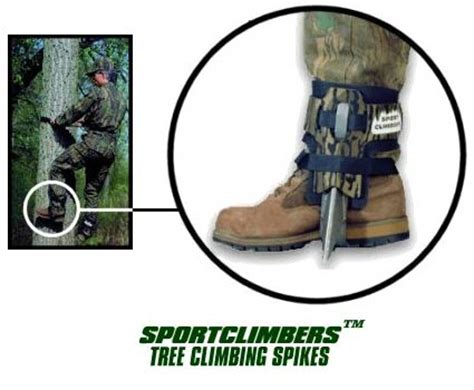hunter aluminium boot jack sport climbers spikes
