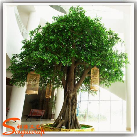 Cheap Trees - 2015 wholesale cheap indoor artificial ficus banyan tree