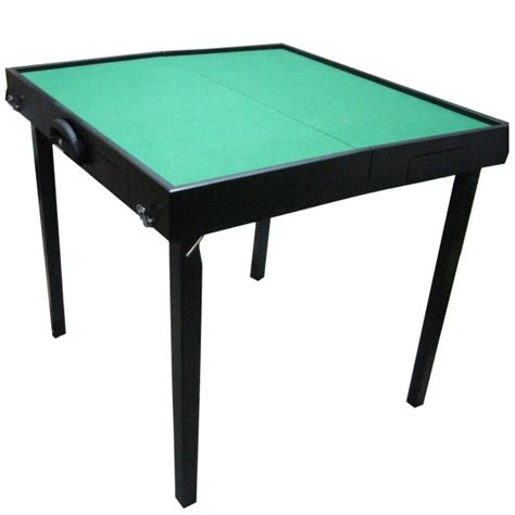 ultimate foldable mahjong table deluxe wooden