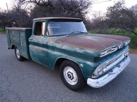 chevy truck bed for sale california native 1961 chevy utility bed truck with