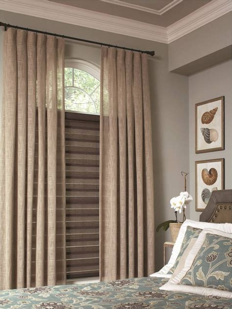 bedroom window coverings lafayette interior fashions transitional brown
