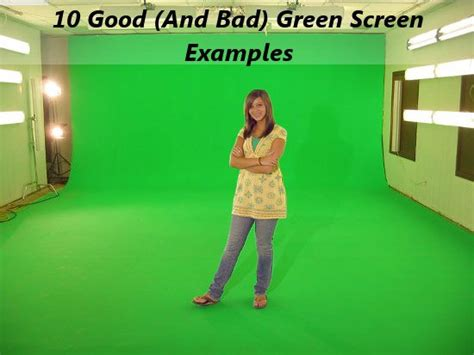 lighting for green screen photography 10 and bad green screen exles
