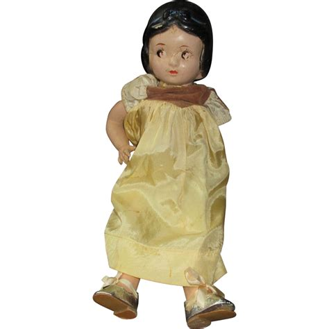 composition snow white doll composition strung snow white doll needs tlc marked