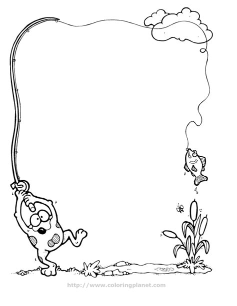 Border Coloring Pages free coloring pages of border frame
