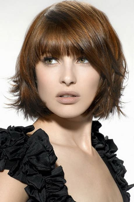 medium length stacked haircuts stacked medium length haircuts