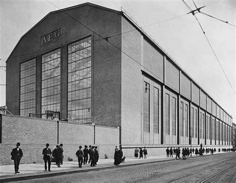 behrens berlin aeg am humboldthain architectuul