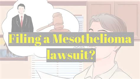 Mesothelioma Settlement Fund 5 by Things You Should Before You File A Mesothelioma Lawsuit