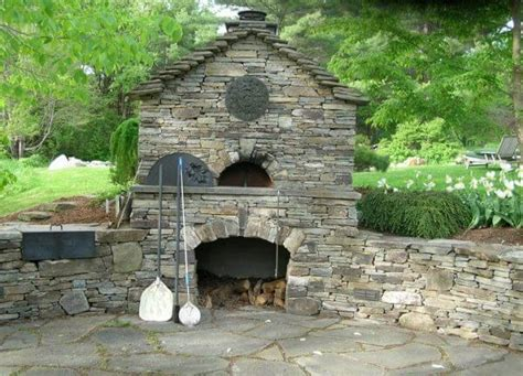 Firerock Fireplace Cost by Outdoor Oven Nifty Homestead