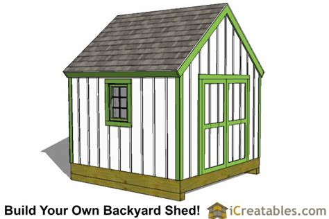 How To Build A 10x10 Storage Shed by You Shed Plans