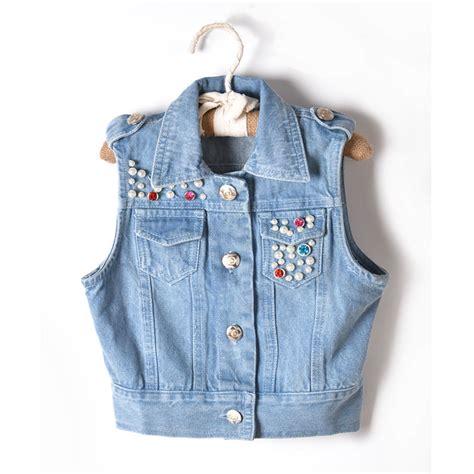 Jaket Rompi Anak Alpinestar Zalfa Clothing dijual panas baru musim gugur mantel dan jaket untuk anak anak bayi perempuan rompi denim