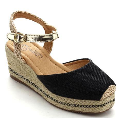 closed toe espadrille wedge sandals beston megan 02k s closed toe slingback espadrille