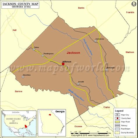 jackson usa maps jackson county map map of jackson county