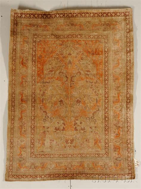 silk prayer rug silk tabriz prayer rug sale number 2519b lot number