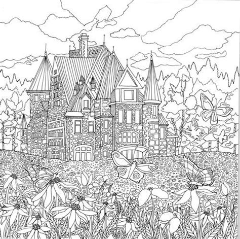 coloring pages for adults landscapes legendary landscapes coloring book journey colorworth