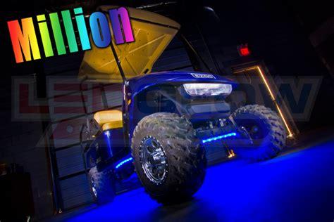 golf cart underbody lights million color led golf cart underbody lights customize