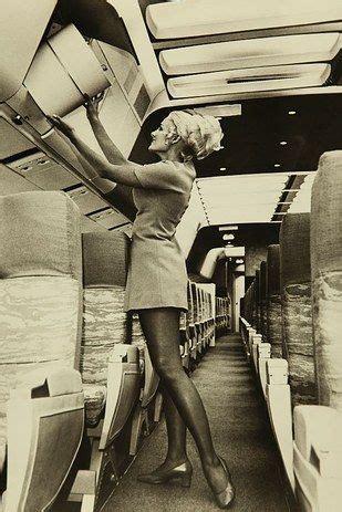 pictures show  glamorous styles   flight attendants geraldine flight attendant